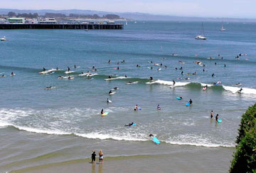 Playas surferas California