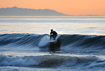 surfear en California